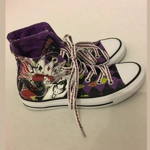Converse Shoes - Harley Quinn RARE Converse Joker Hi Top Sneakers 6